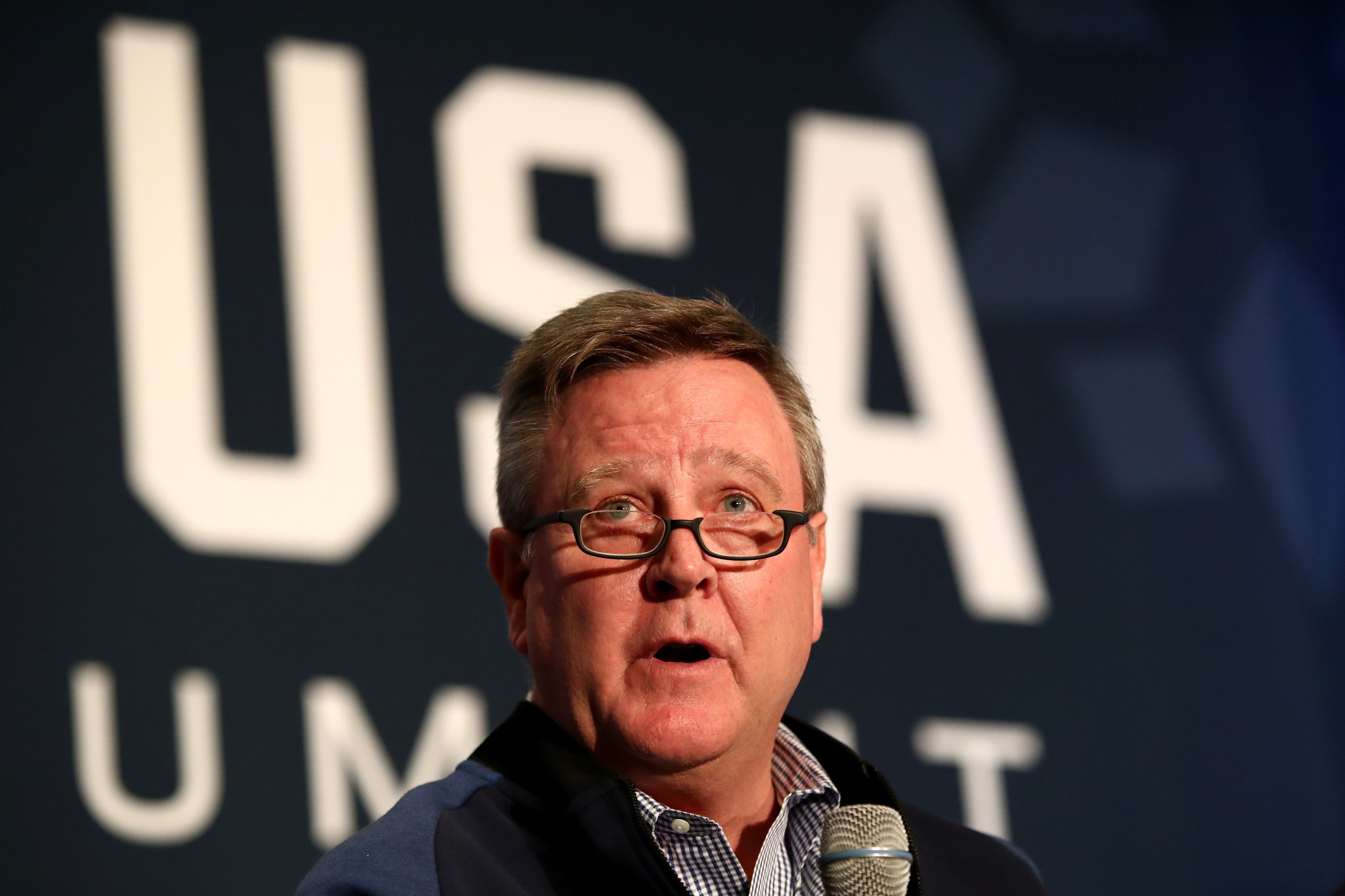 Scott Blackmun believes action should be taken against Russia now ©Getty Images