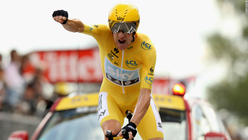 Conduct of Britain's first-ever Tour de France winner Sir Bradley Wiggins is focused upon heavily in the report ©Getty Images