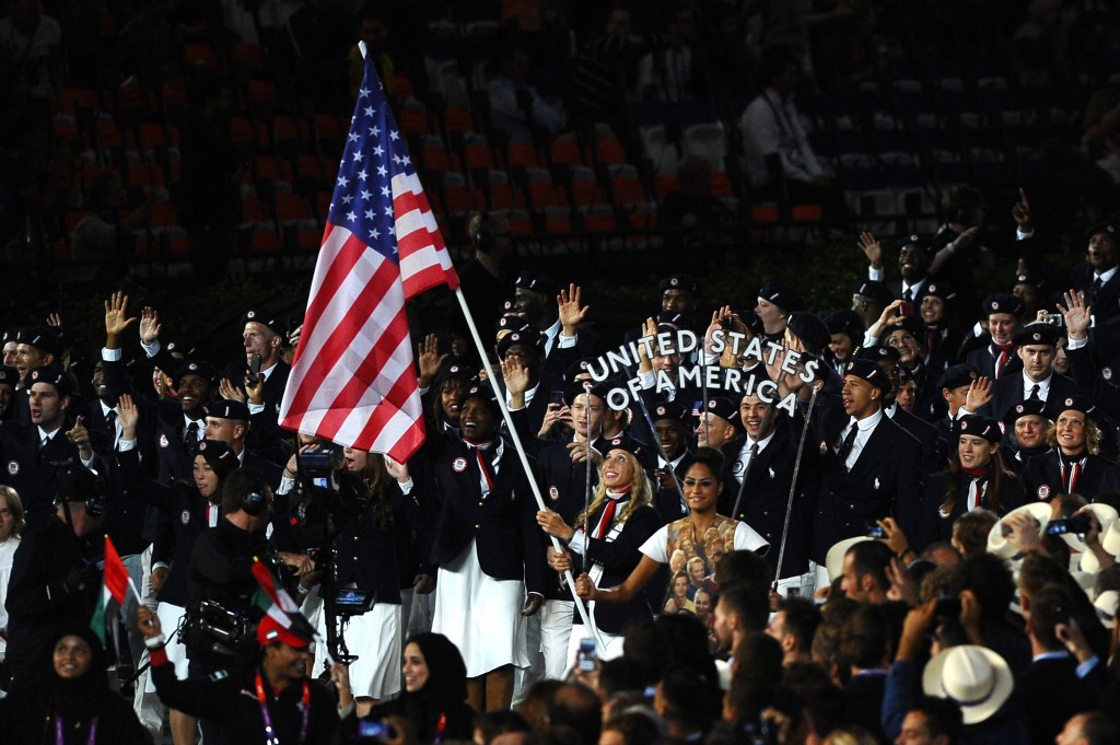 United States are predicted to finish top of the medals table once again at Rio 2016 ©Getty Images