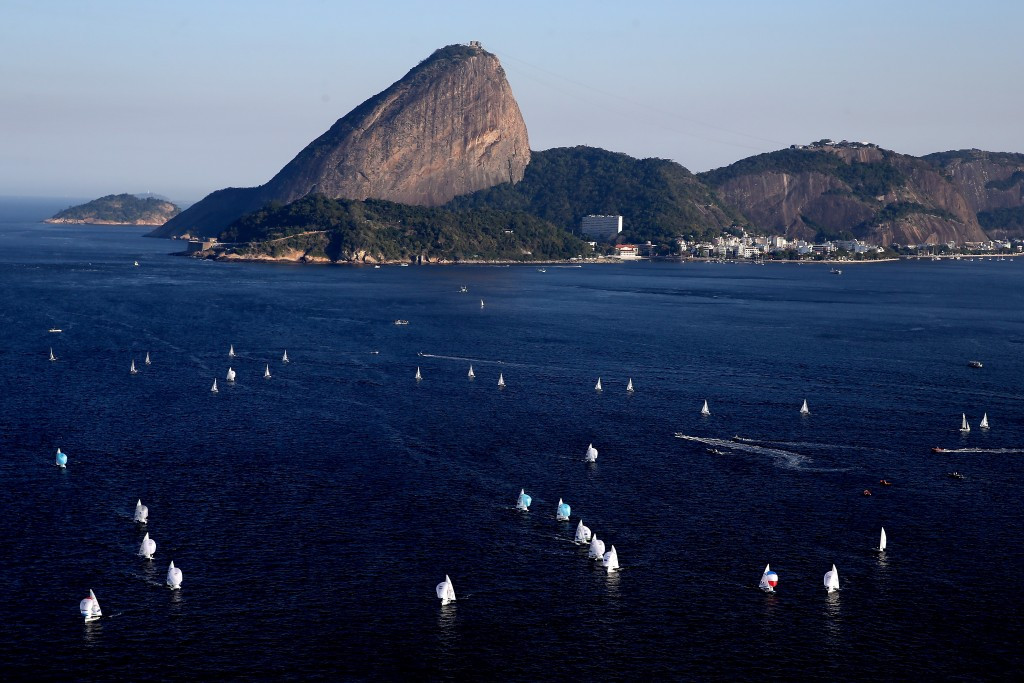 Guanabara Bay promised to be a picturesque venue, but pollution concerns have still cast a shadow ©Getty Images