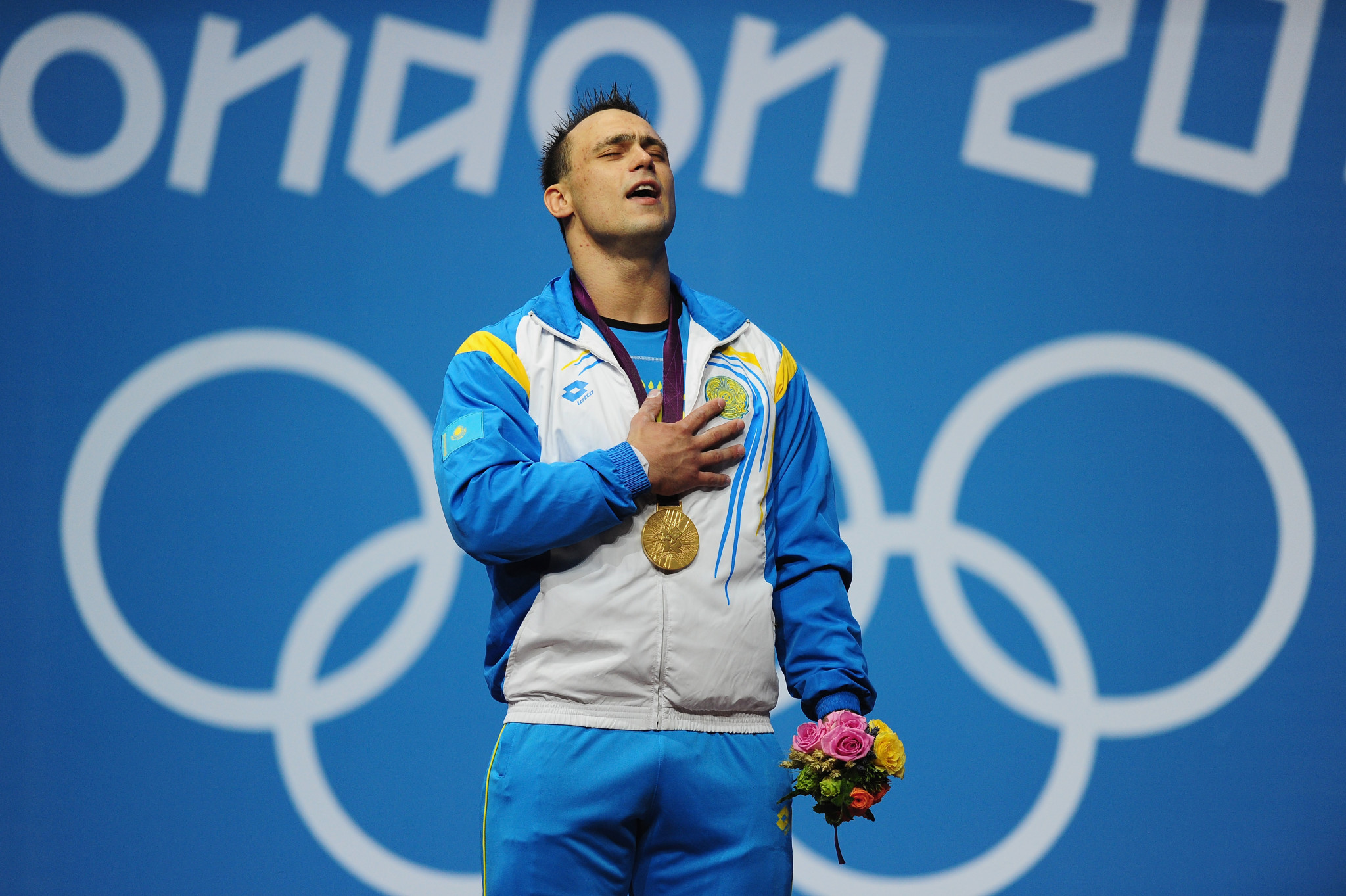 Ilya Ilyin, of Kazakhstan, who was disqualified after winning gold medals at both Beijing 2008 and London 2012 ©Getty Images