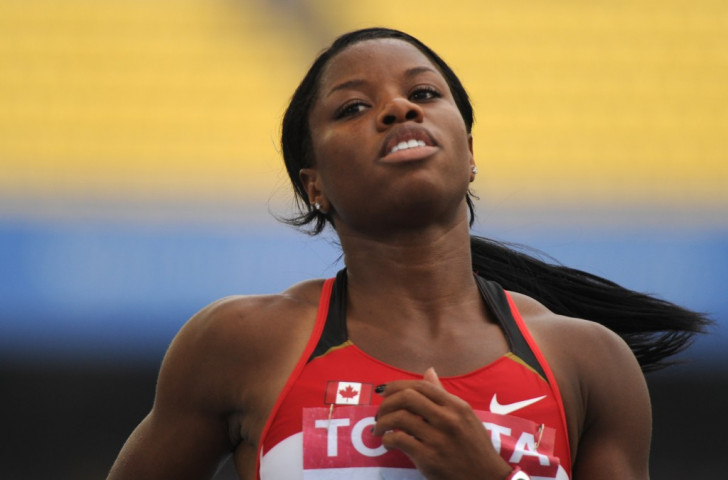 Canada's world champion hurdler Perdita Felicien is among those drumming up support for #SoldOutSaturday