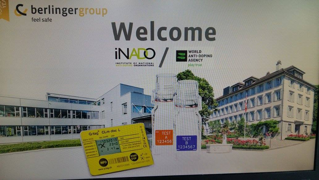 The iNADO Athlete and Leader Symposium will be hosted by Berlinger Group Switzerland ©iNADO/Facebook