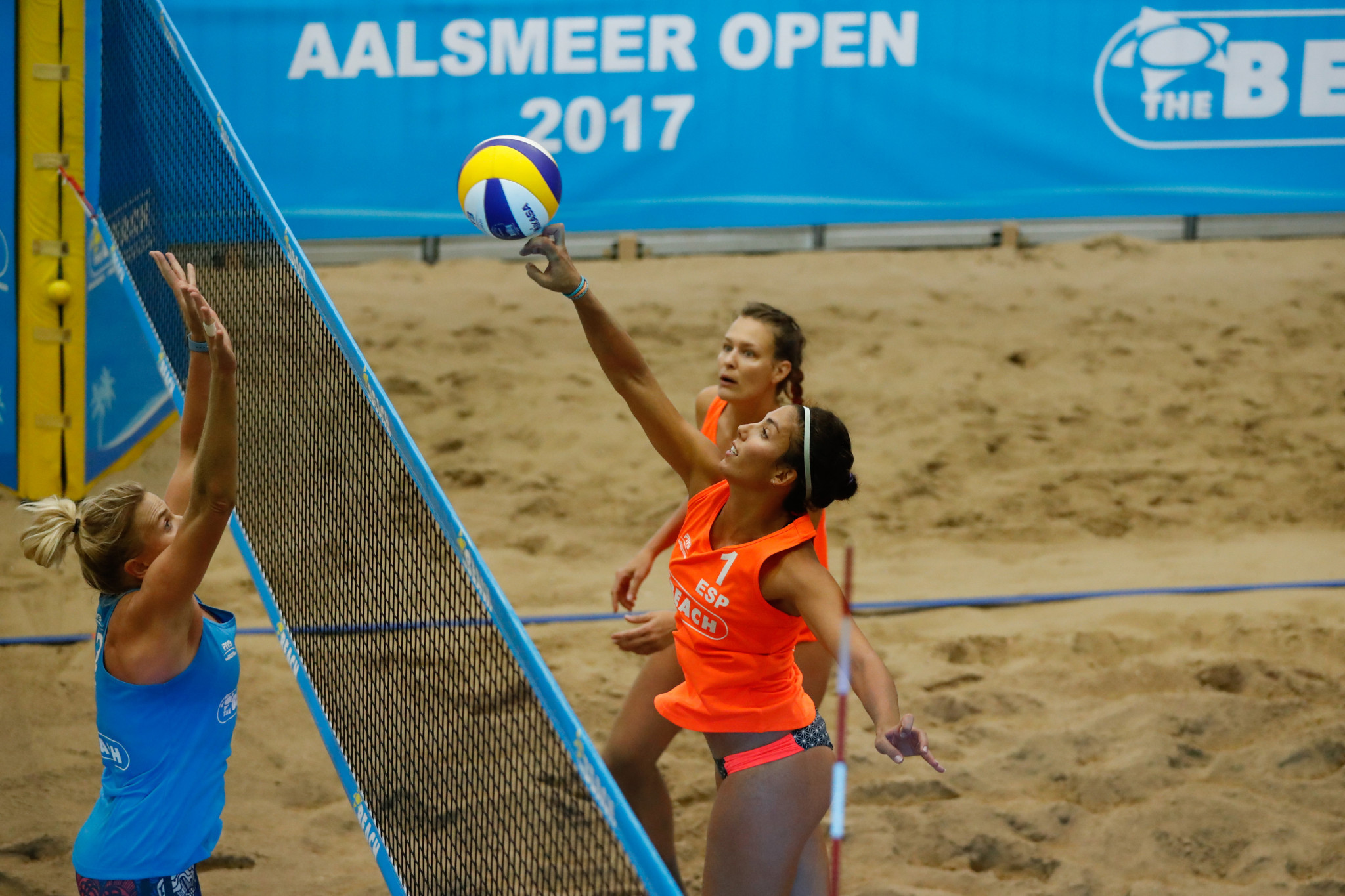 Spanish duo through to second round at FIVB Beach World Tour Aalsmeer Open