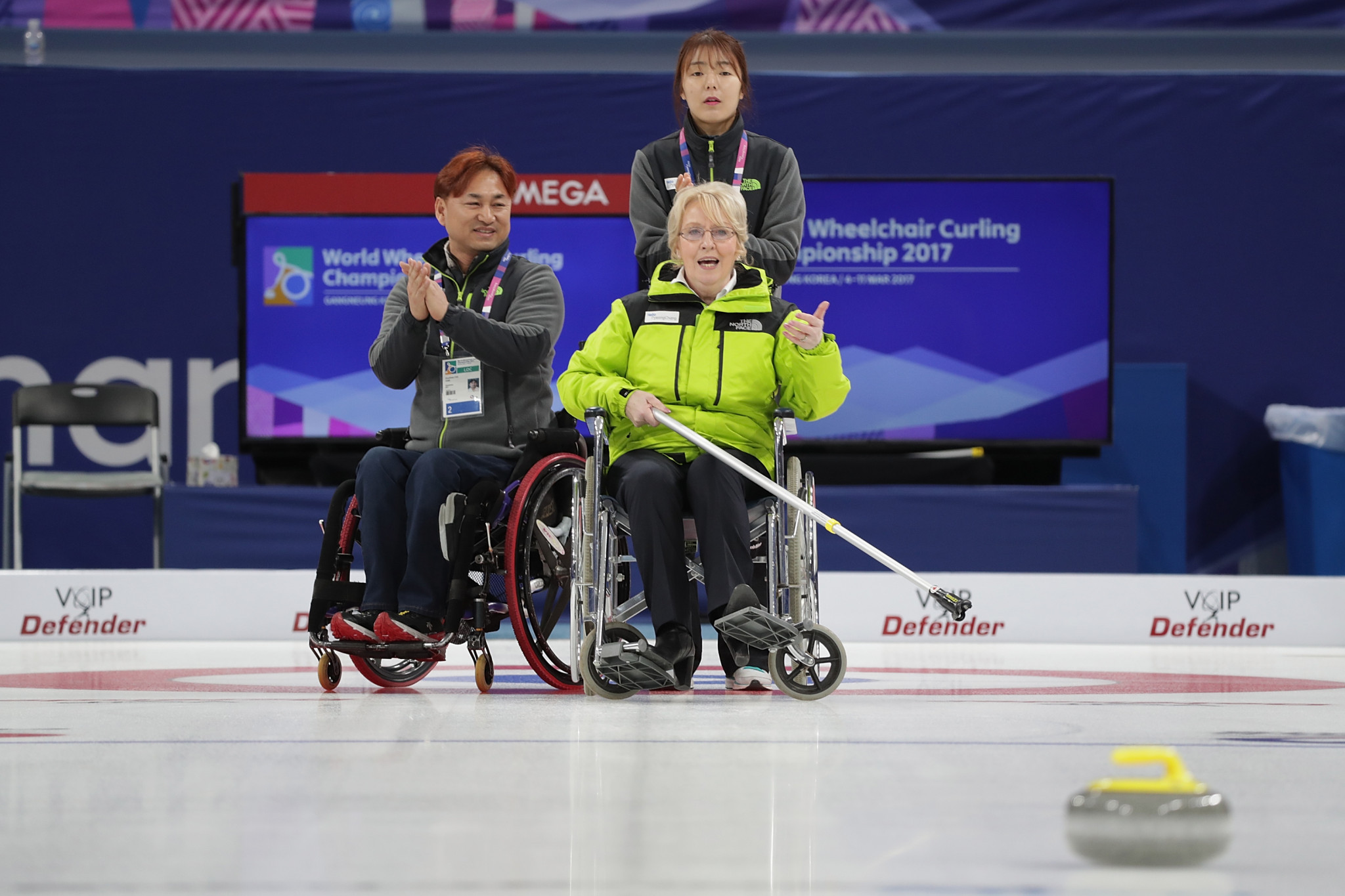 Wheelchair curling marked the lowest percentage of sales for the Pyeongchang 2018 Paralympics at 0.09 per cent ©Getty Images