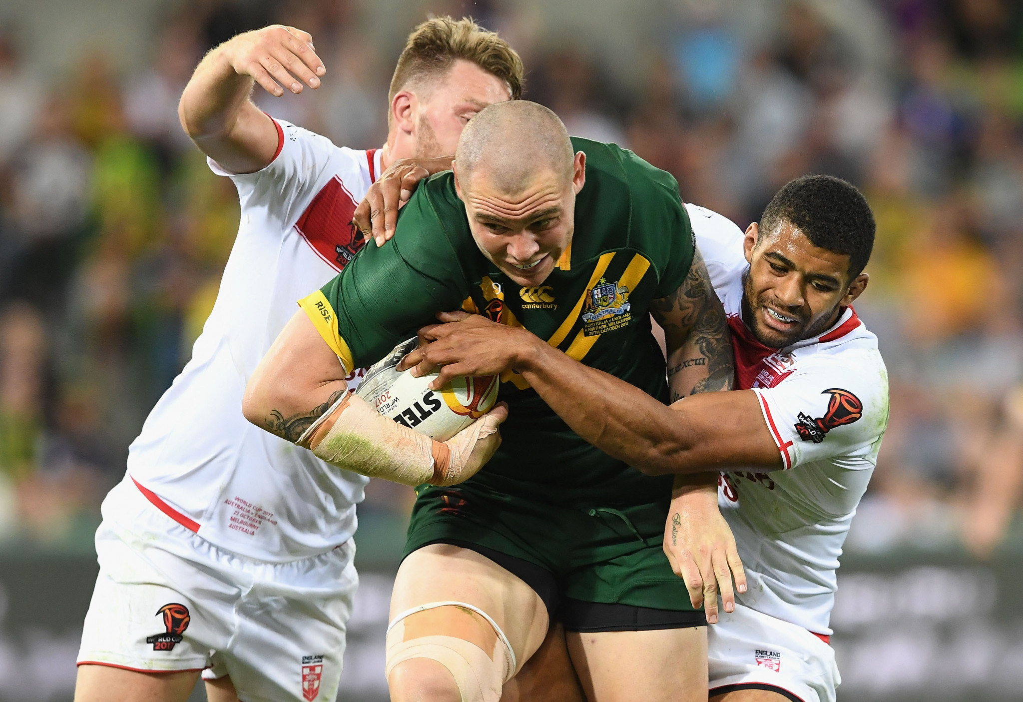 Australia beat England in opening 2017 Rugby League World Cup match