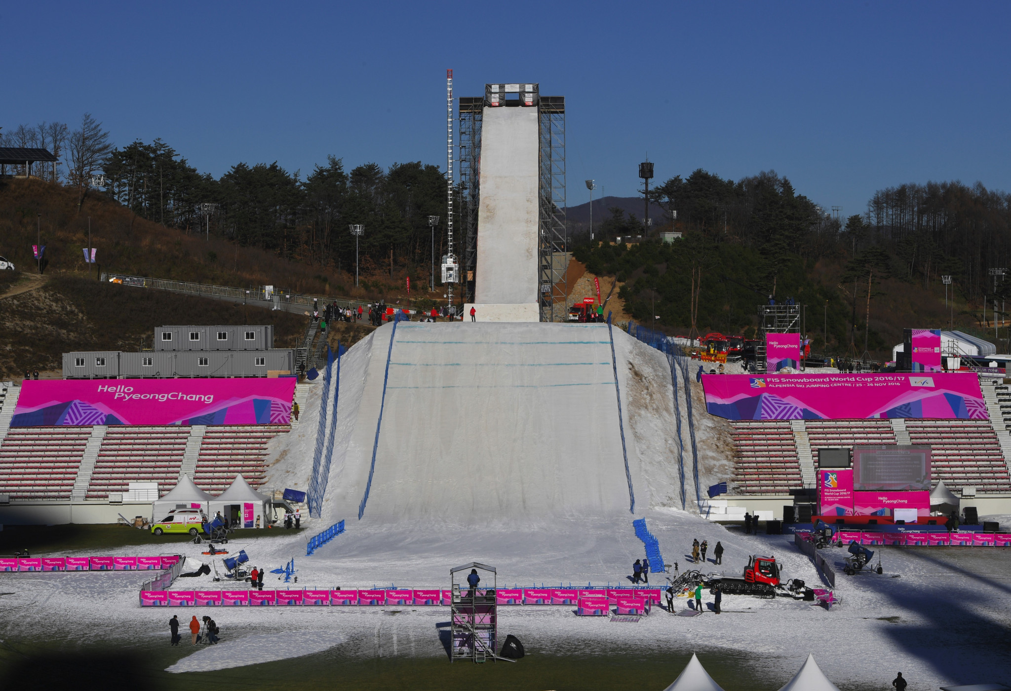 NOCs have called for a swift resolution to the Russian investigations before Pyeongchang 2018 ©Getty Images