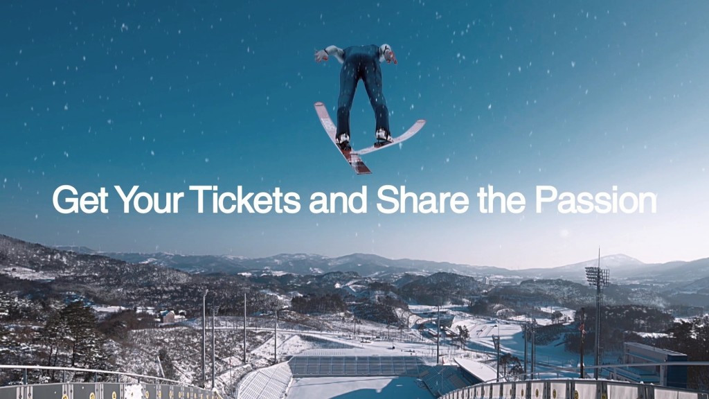 Tickets for the Pyeongchang 2018 Winter Olympics were officially placed on sale in February ©Pyeongchang 2018