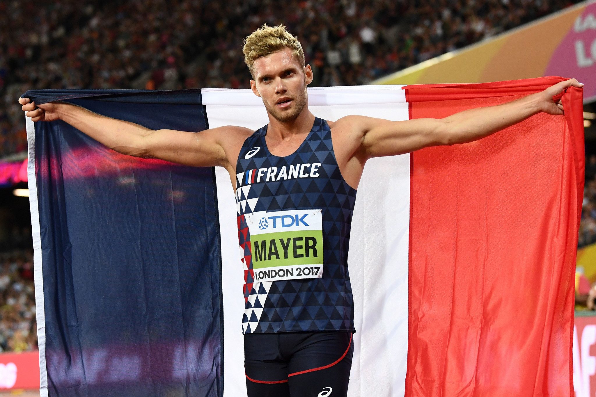 World decathlon champion Kevin Mayer became hooked on the event as it was never repetitive ©Getty Images