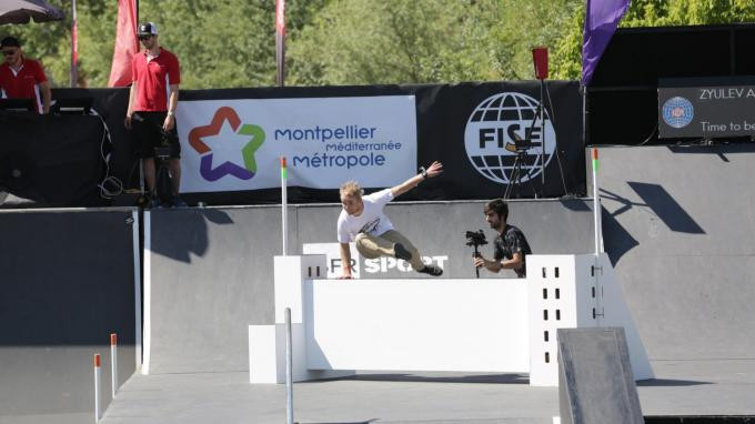 A row over who governs parkour is set to be reignited at the FISE World Series in Chengdu ©FIG