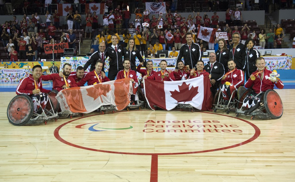 Canada come from behind to beat arch-rivals America to claim Parapan American Games wheelchair rugby gold