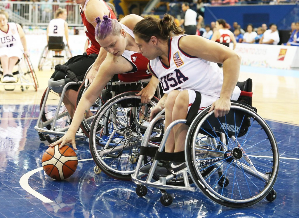 The United States gained revenge by beating the hosts in the women's basketball final