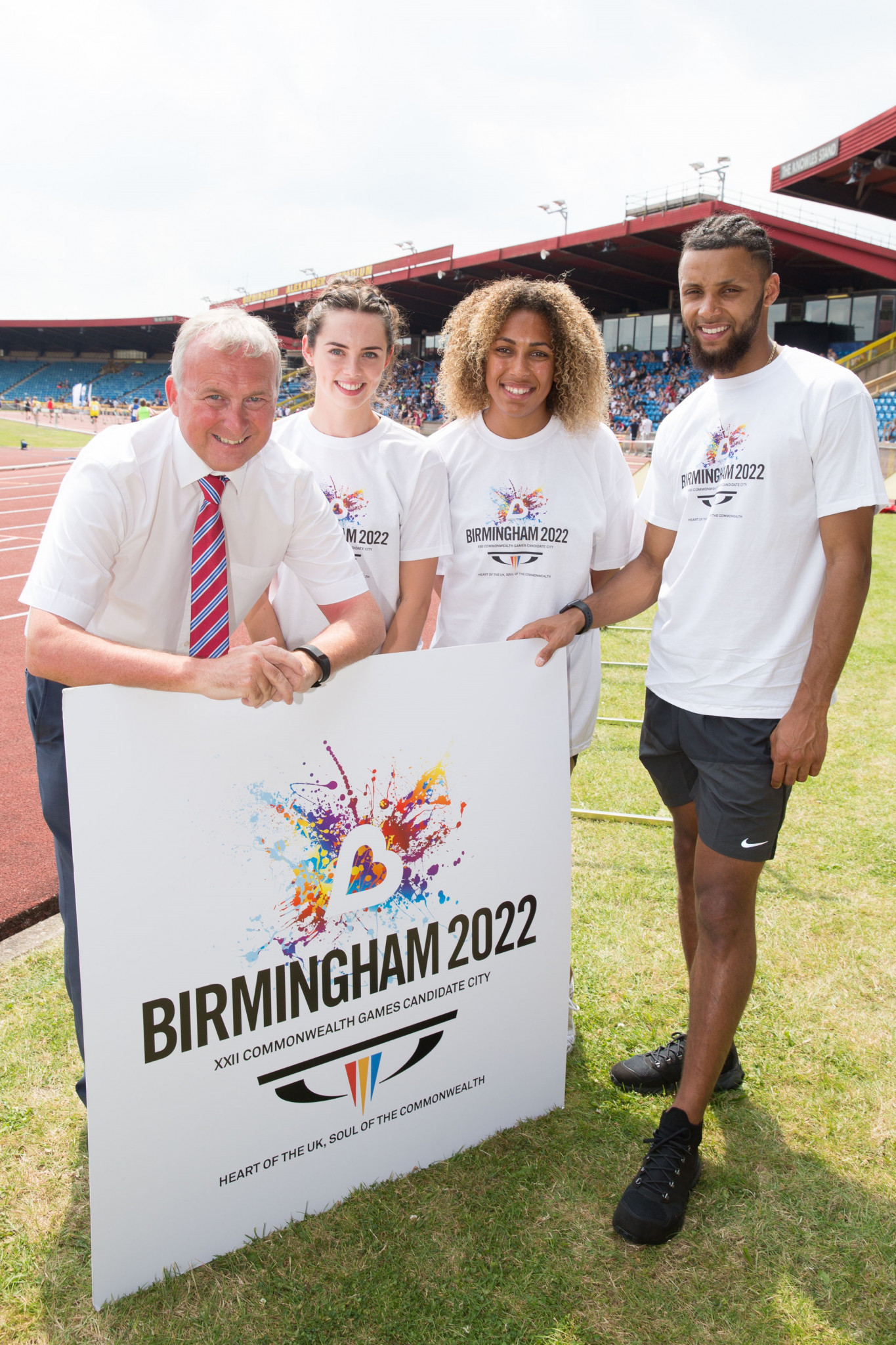 Birmingham 2022 chairman Ian Ward, left, is set to officially take over as the new leader of the City Council ©Birmingham 2022