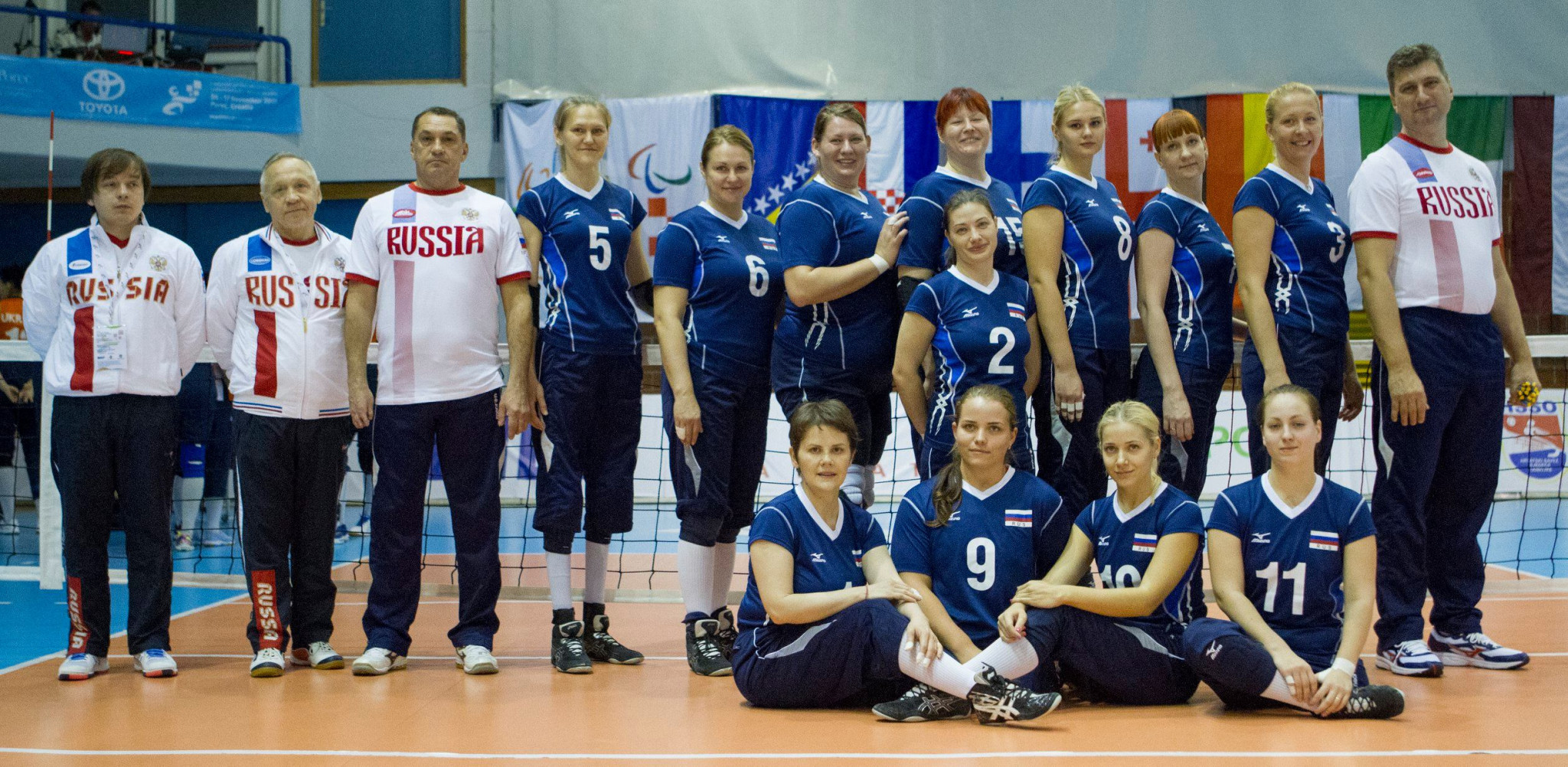 Russia topped their women's group at the European Championships ©ParaVolley Europe Sitting Volleyball Championship