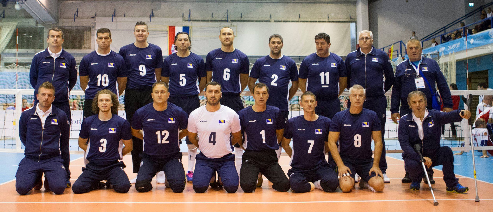 Bosnia and Herzegovina remain on course to defend their men's title ©ParaVolley Europe Sitting Volleyball Championship