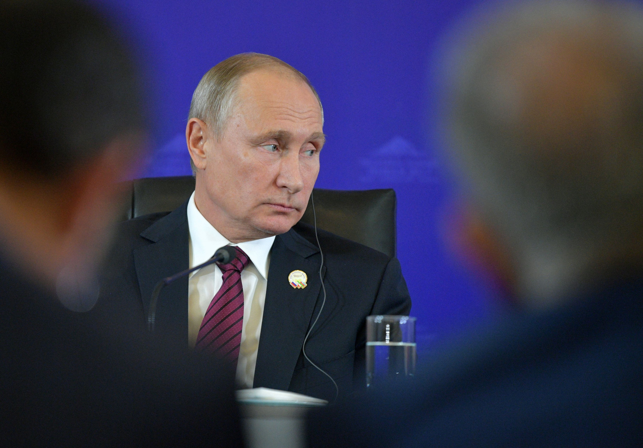 Vladimir Putin has denied state-sponsored doping in Russia ©Getty Images