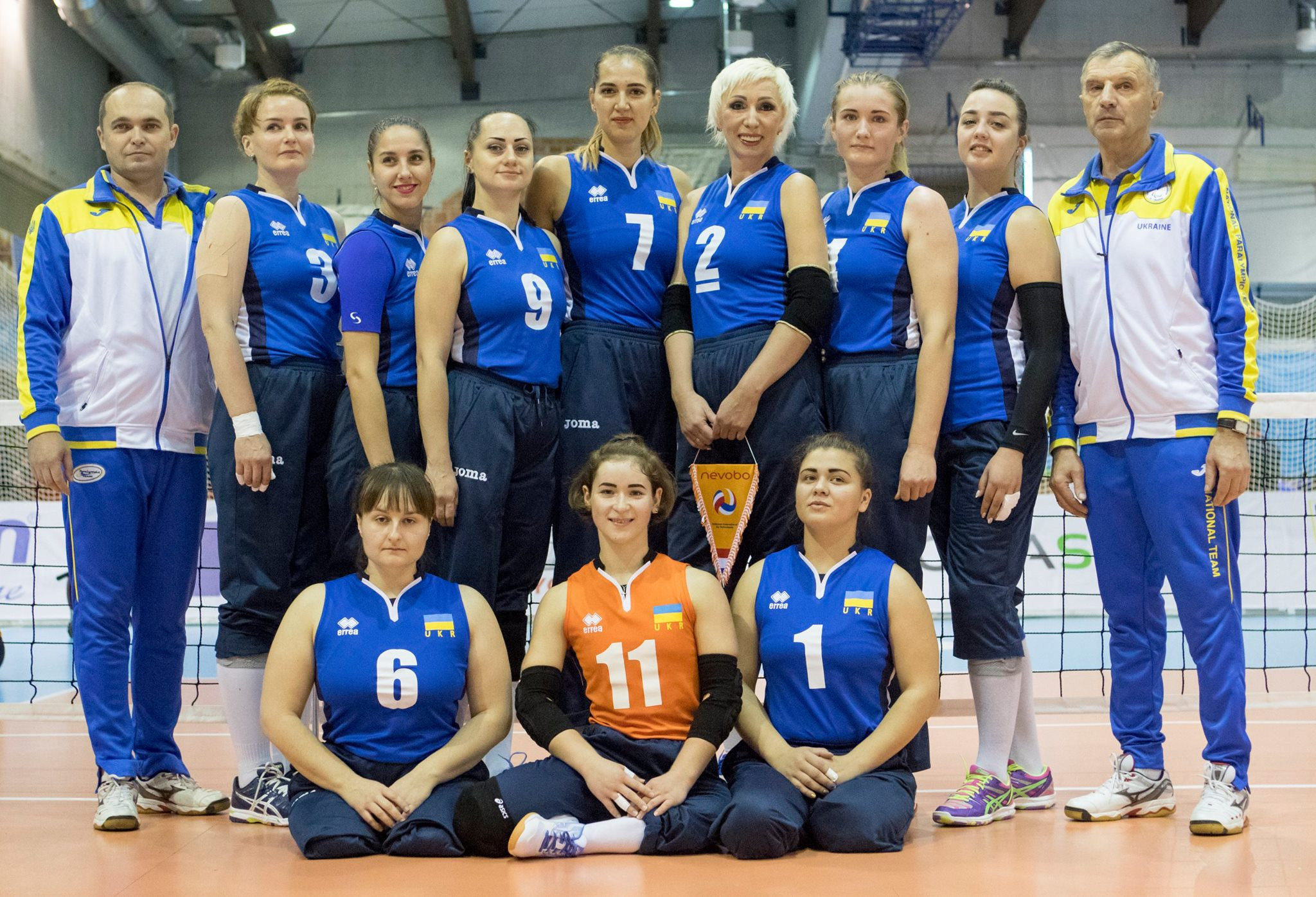 Ukraine reached the women's gold medal match after a straightforward semi-final win ©ParaVolley Europe Sitting Volleyball Championship