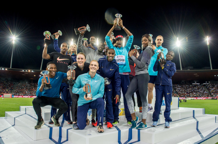 IAAF Diamond League winners at Zurich this year - the IAAF have decided that the League continues to have a winning format as it evolves ©Getty Images