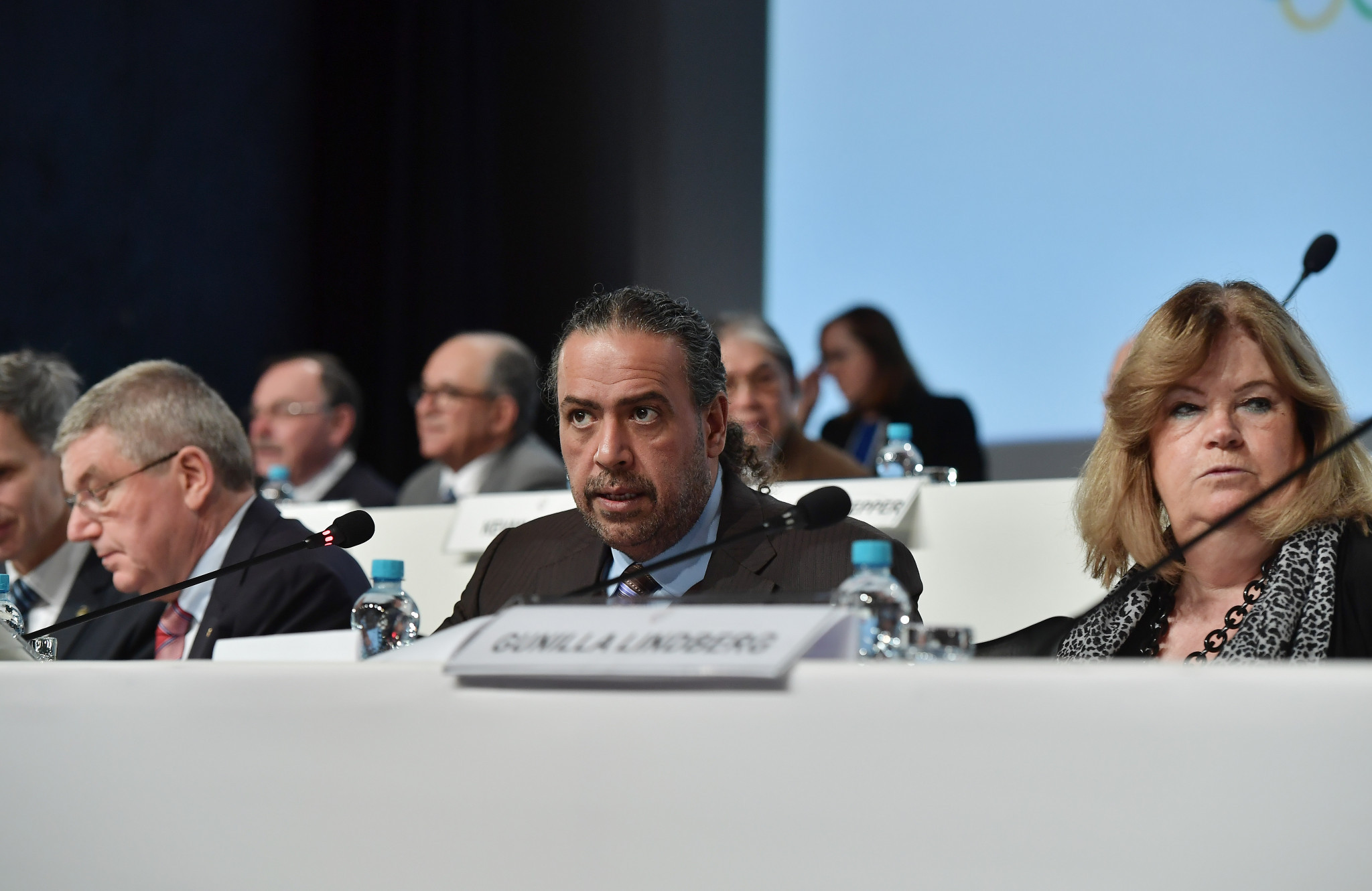The ANOC resolution was proposed during a meeting chaired by Sheikh Ahmad Al-Fahad Al-Sabah, centre ©Getty Images