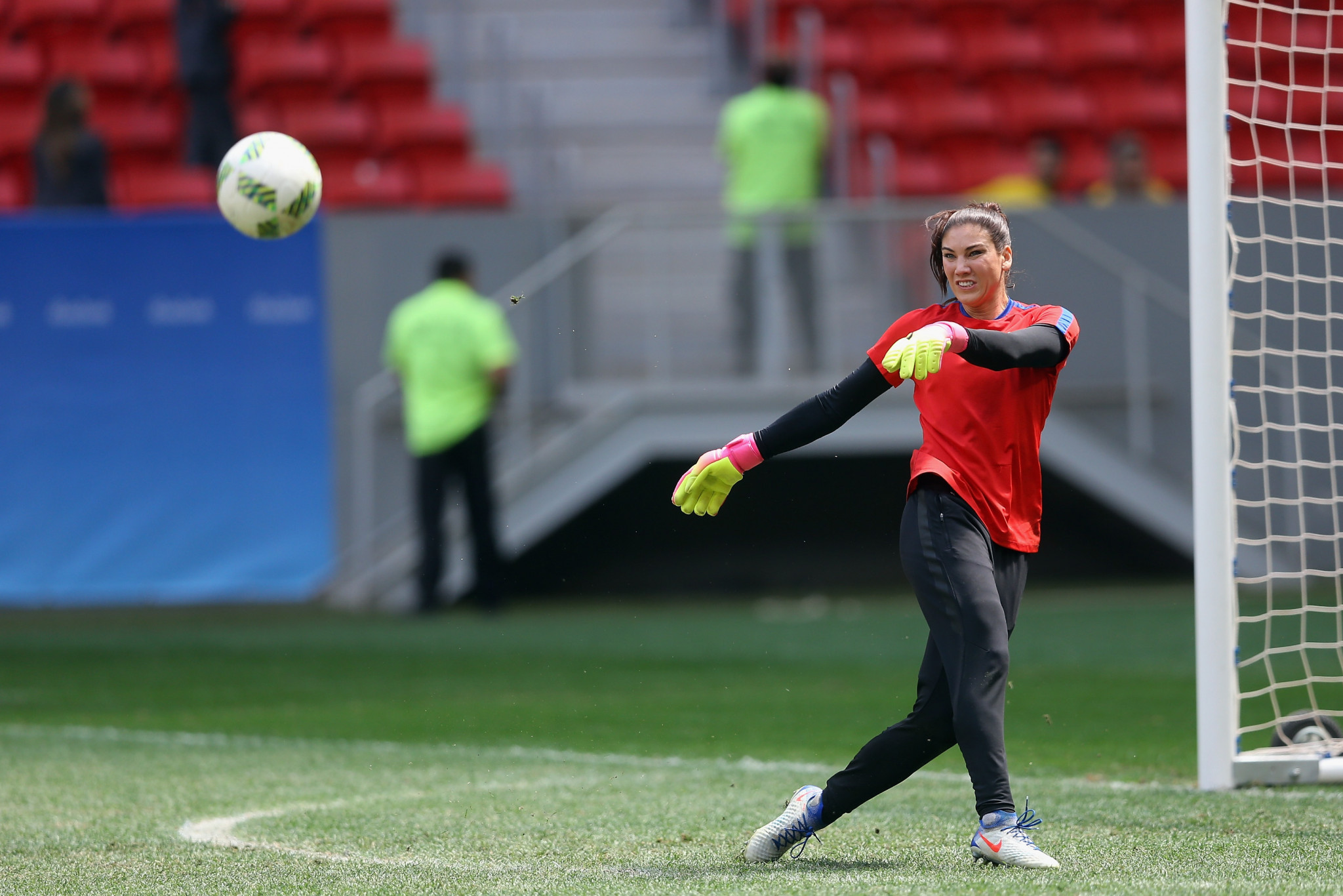 Hope Solo has won two Olympic gold medals ©Getty Images