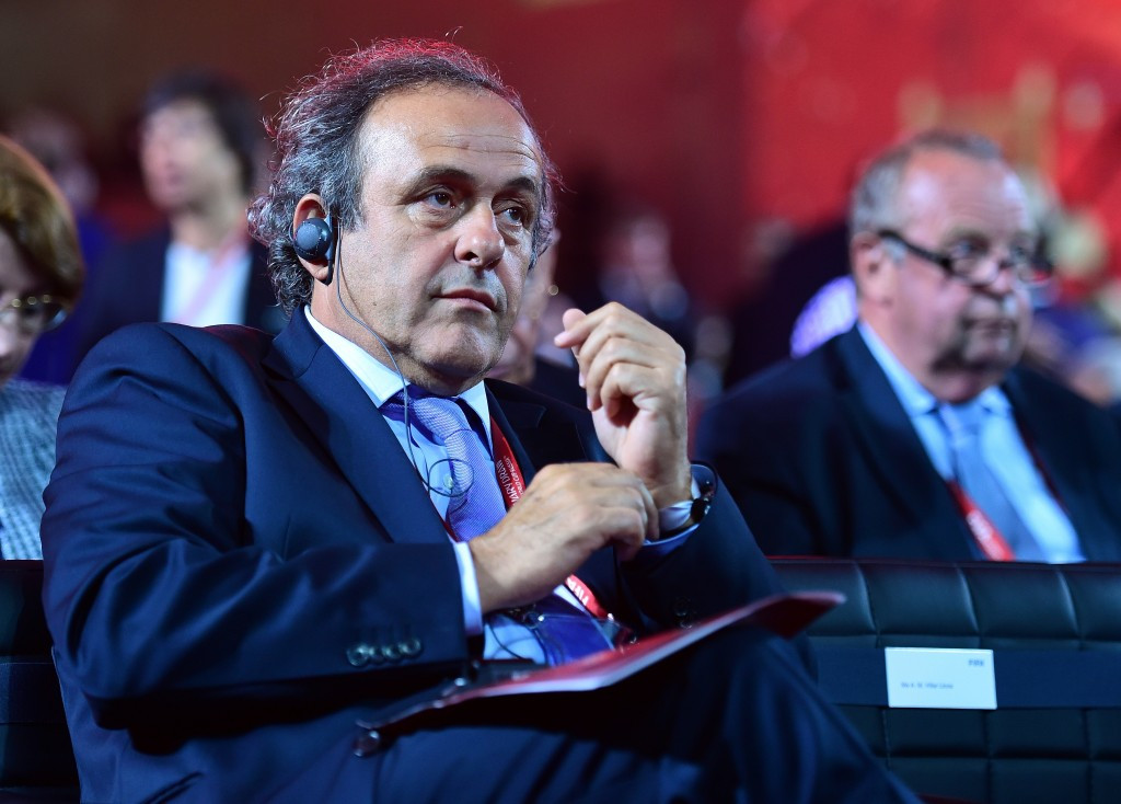 Michel Platini has appealed his 90-day suspension from all footballing activity ©Getty Images