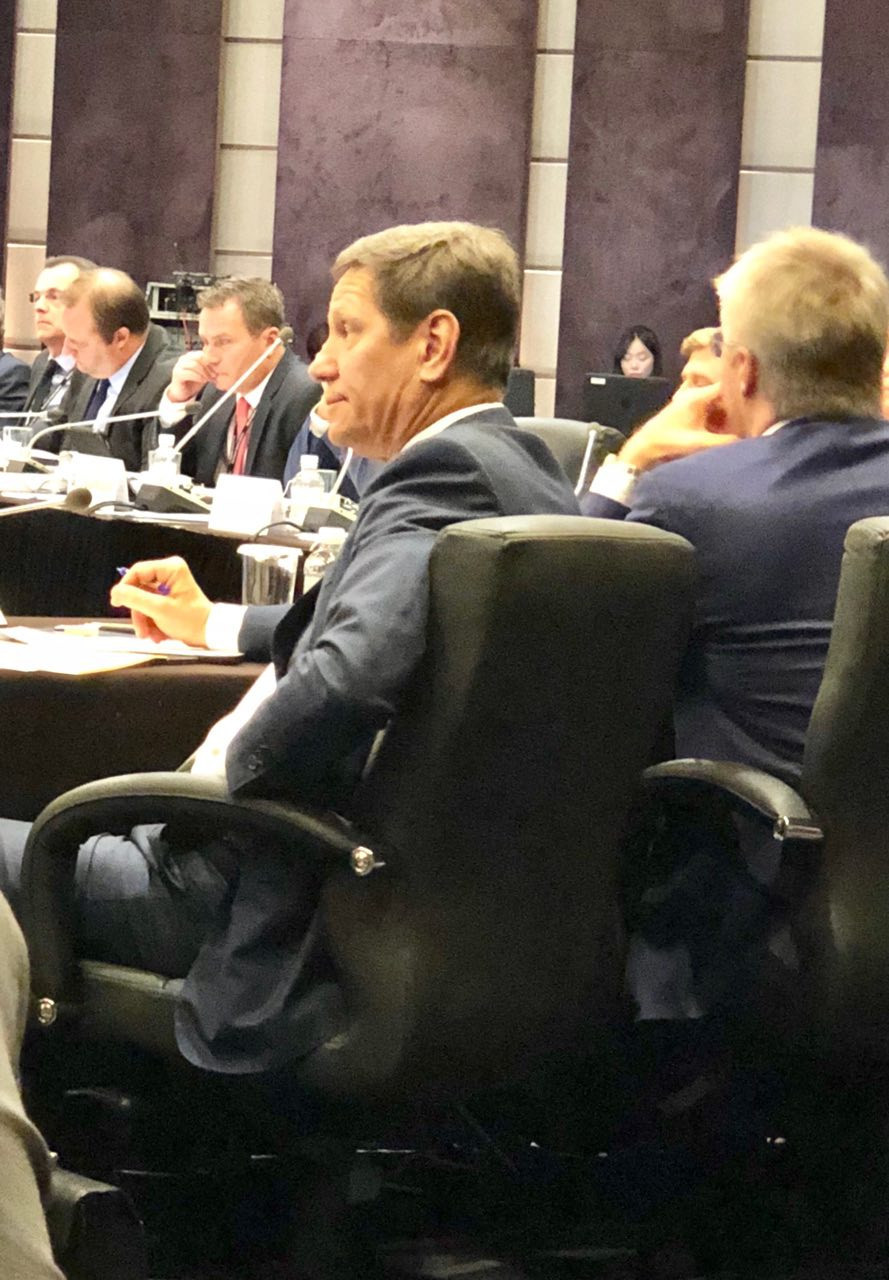 Russian Olympic Committee President Alexander Zhukov warned the WADA Foundation Board that his country would never unconditionally accept the findings of the McLaren Reports ©ITG