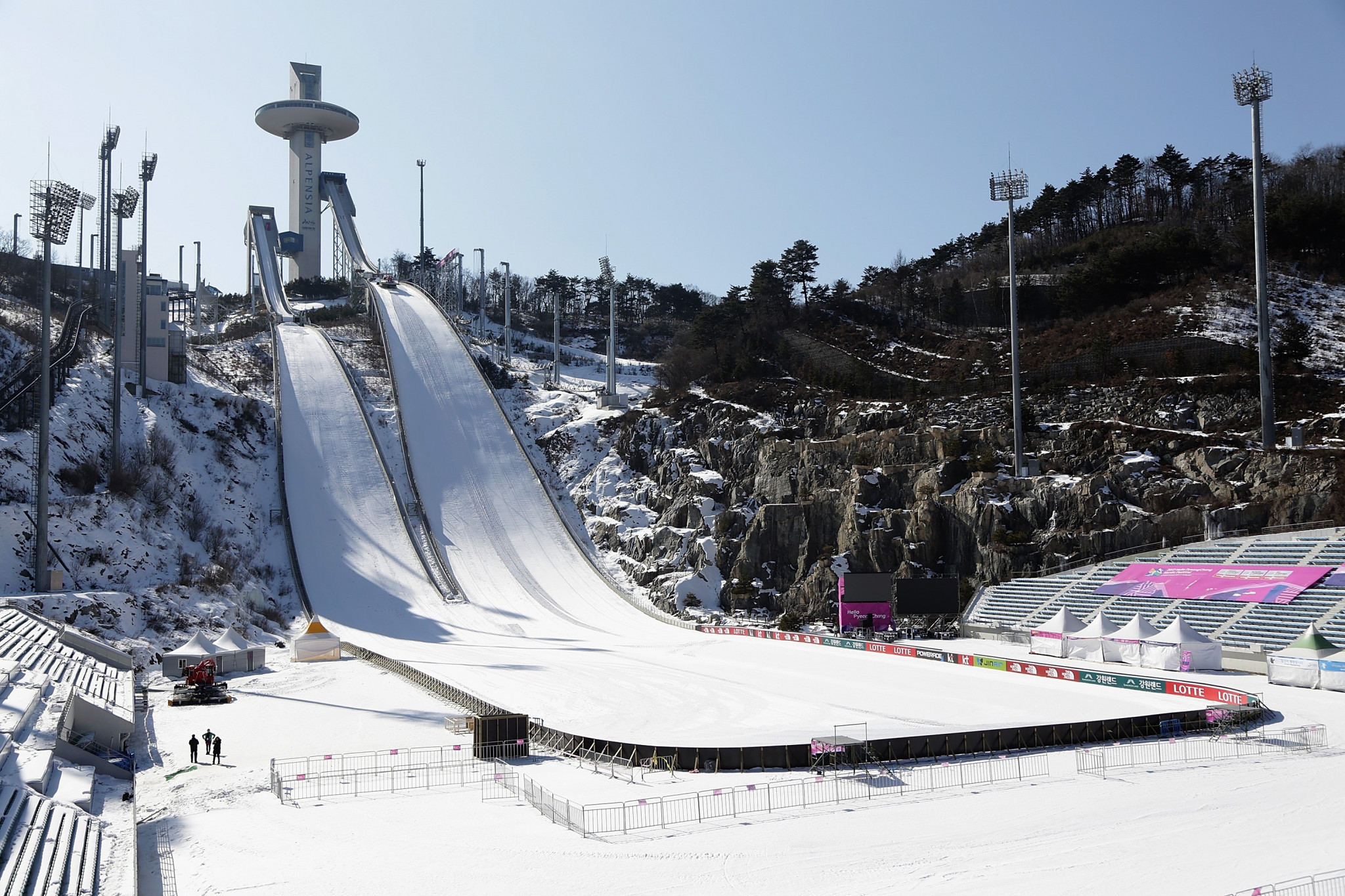 The Pyeongchang 2018 Winter Olympic Games are due to begin in less than three months' time ©Getty Images