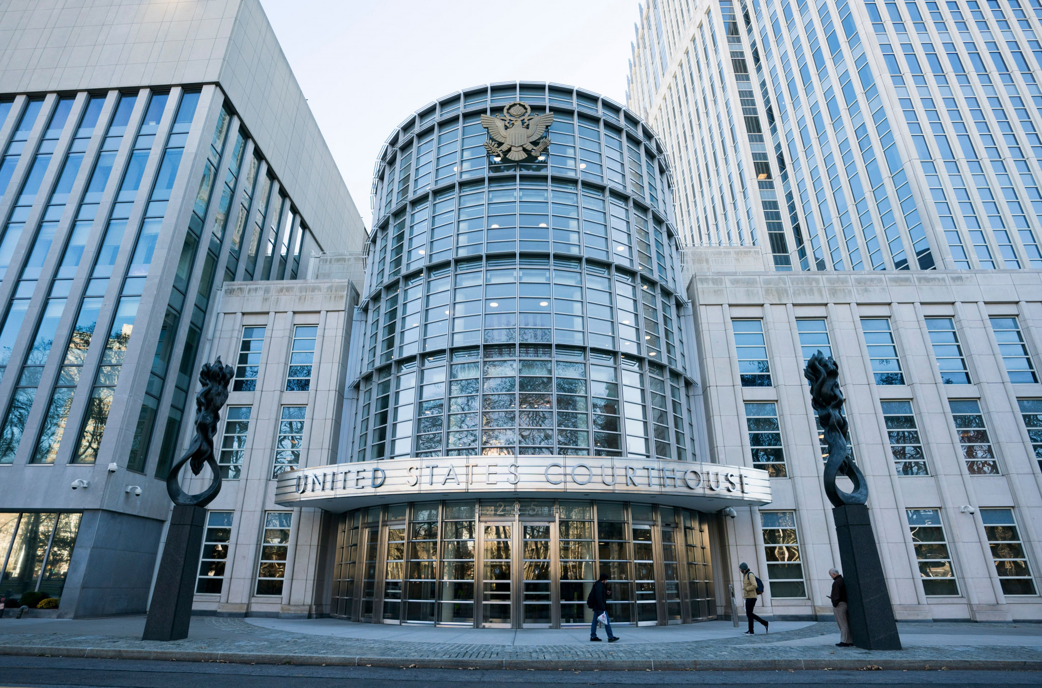 The Federal Courthouse in Brooklyn, New York, where Juan Ángel Napout of Paraguay, José Maria Marin of Brazil, and Manuel Burga of Peru are on trial in the FIFA corruption scandal ©Getty Images