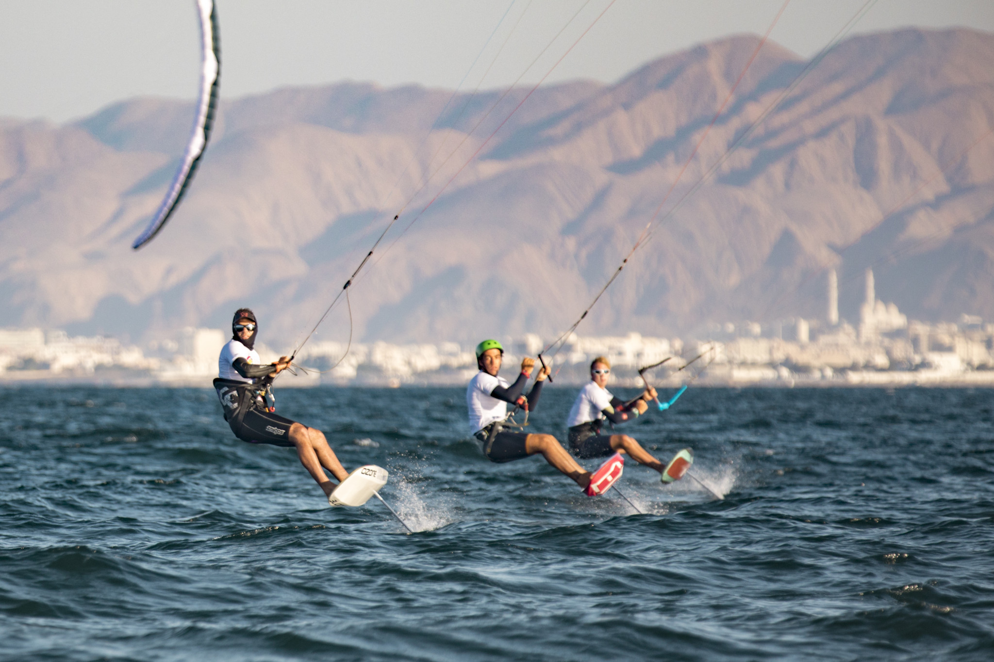 Parlier takes lead on day three of Formula Kite World Championships