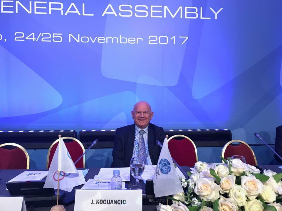 Kocijančič elected permanent President of European Olympic Committees as Nygaard becomes vice-president