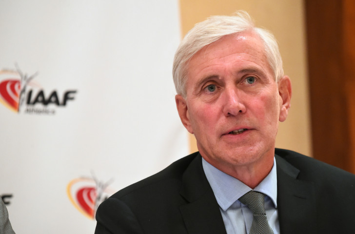 Rune Andersen, head of the IAAF Taskforce, has recommended a continuance of Russian suspension from competition ©Getty Images