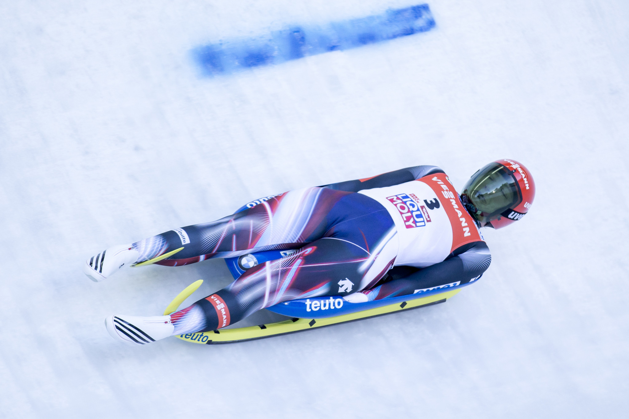 Tatjana Huefner, of Germany, finished second as the Germans dominated on their home slopes ©Getty Images