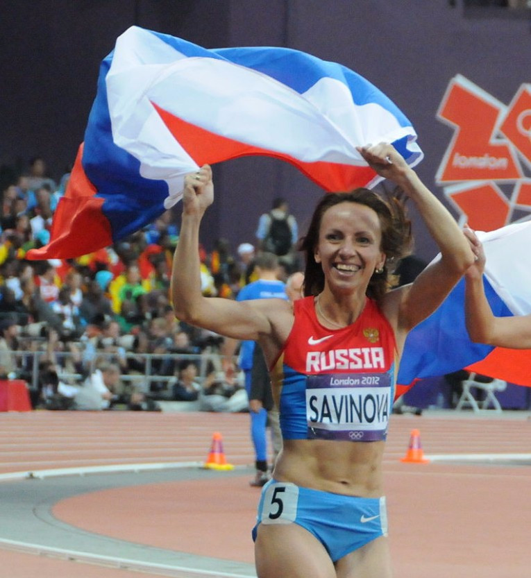 Mariya Savinova is appealing to the Court of Arbitration for Sport against her the decision to strip her of the Olympic gold medal from London 2012 ©Getty Images