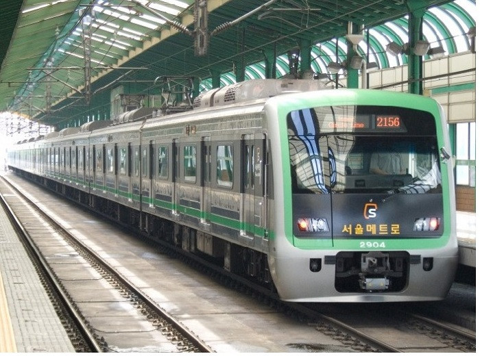 The trains will run six times day on the Subway Line 2 in Seoul ©South Korean Government
