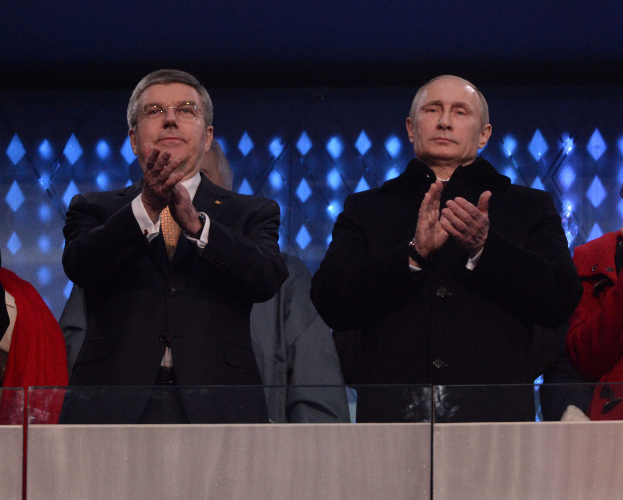 Direction given by IOC President Thomas Bach, left, will determine whether Russia are banned from Pyeongchang 2018, which will anger Vladimir Putin, who must decide whether athletes will compete as neutrals ©Getty Images