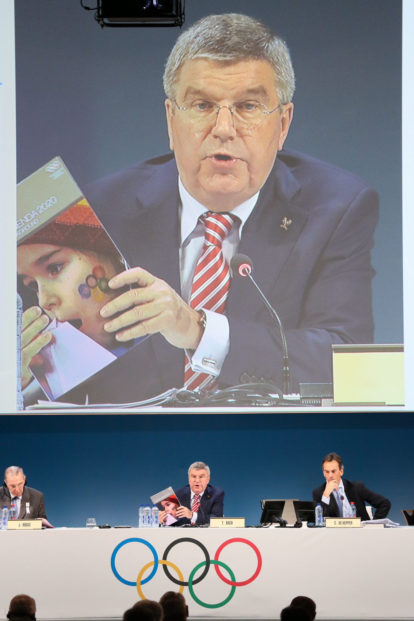 Thomas Bach's Agenda 2020 reforms contained plenty of reference to anti-doping but no concrete measures to back-up the words ©Getty Images