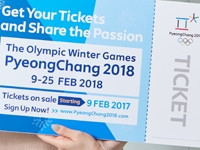 A total of 55 per cent of tickets have been sold for the Winter Olympic Games in Pyeongchang ©Pyeongchang 2018