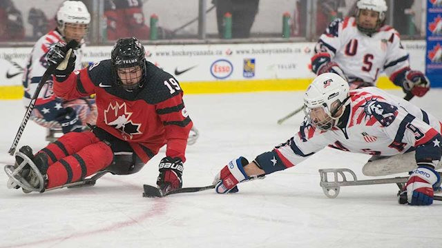 United States maintain unbeaten record as round-robin concludes at World Sledge Hockey Challenge
