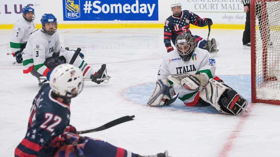 Canada and United States cruise into World Sledge Hockey Challenge final