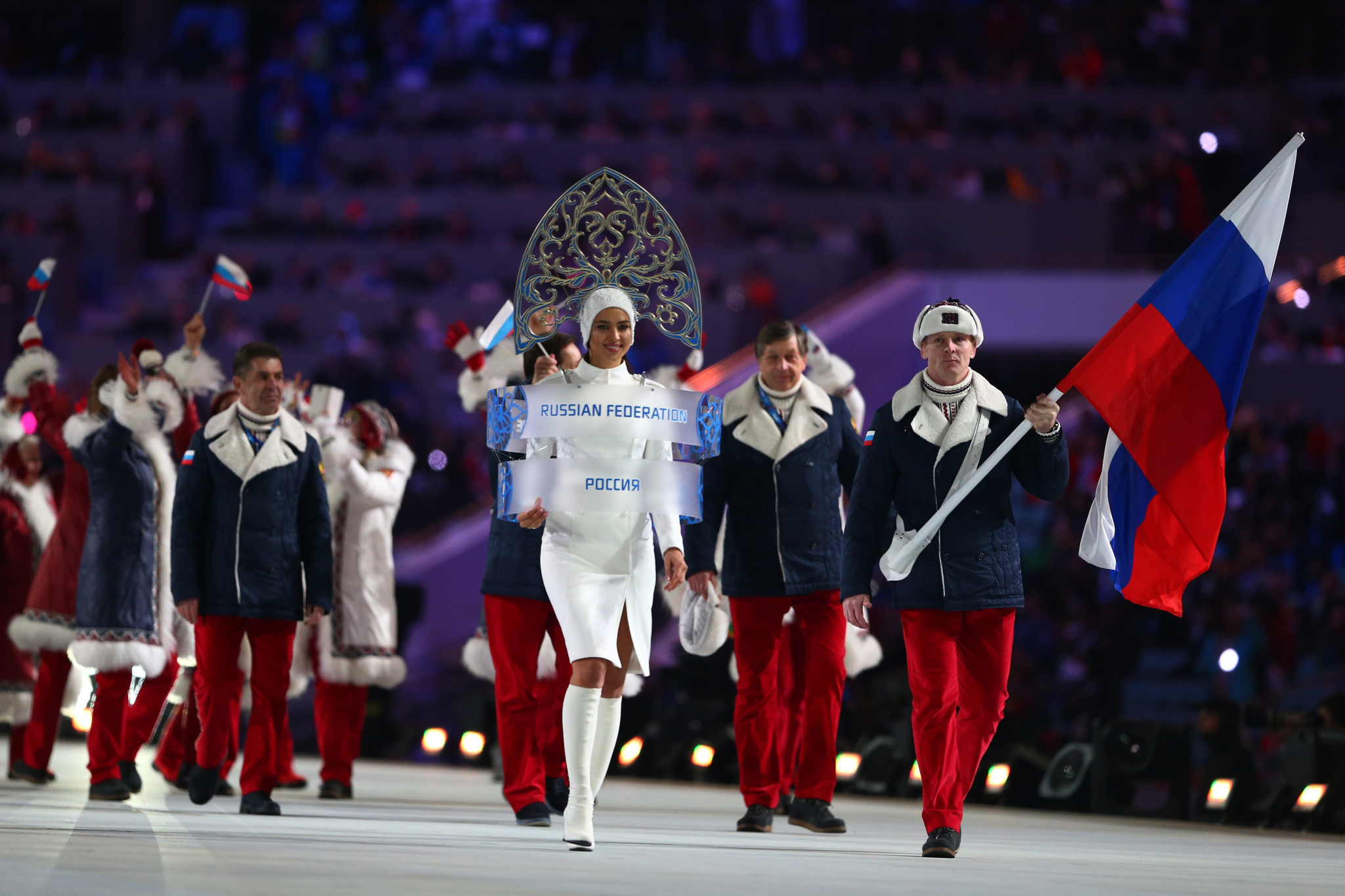 Names of 300 Russian athletes are to be handed to International Federations ©Getty Images