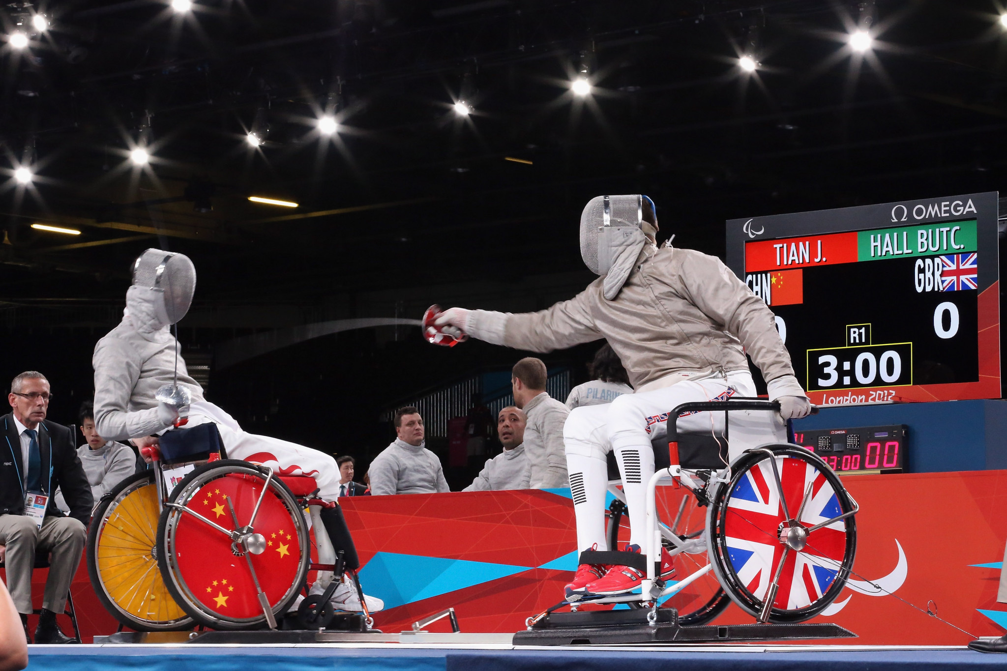 IWAS to trial new separation distance for sabre wheelchair fencing
