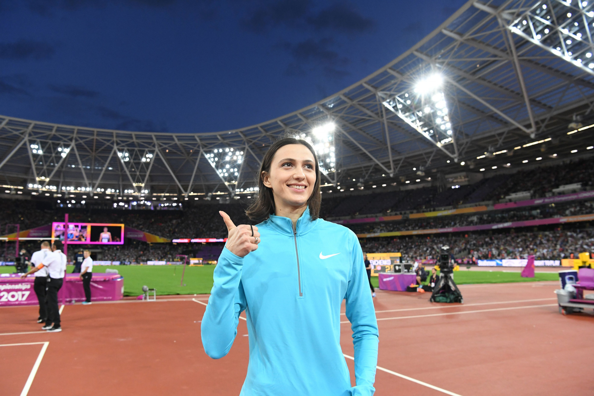 Russians, including high jump gold medallist Mariya Lasitskene, competed as Authorised Neutral Athletes at the 2017 IAAF World Championships in London ©Getty Images