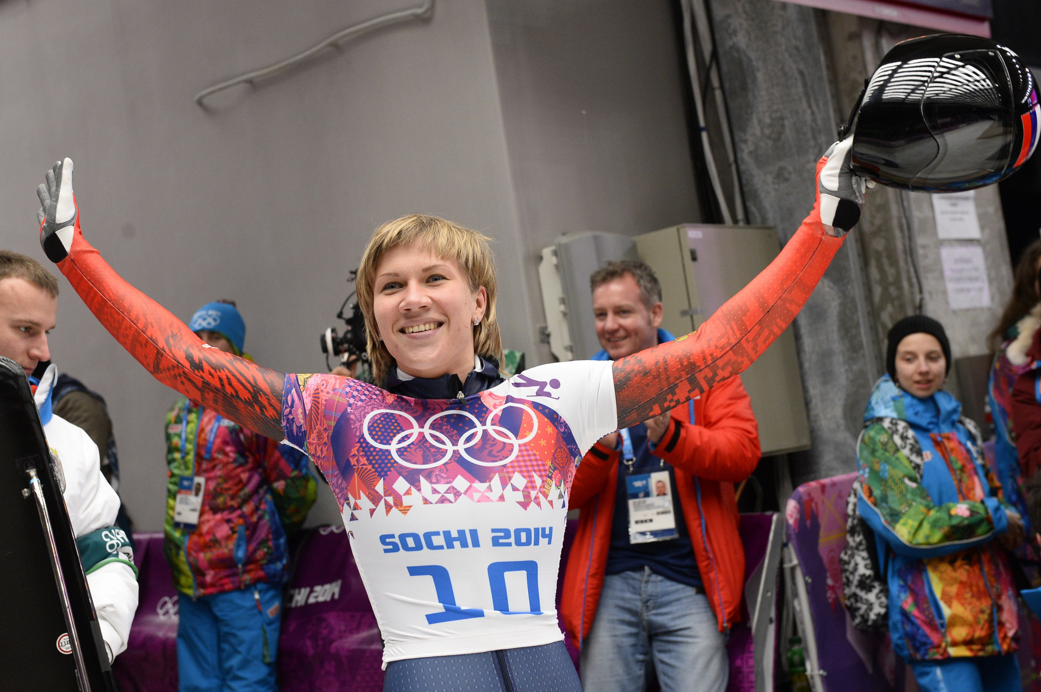Mariia Orlova is one of those sanctioned by the IOC ©Getty Images