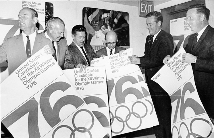 Denver won the right to host the 1976 Winter Olympics before withdrawing due to funding concerns ©Denver Public Library