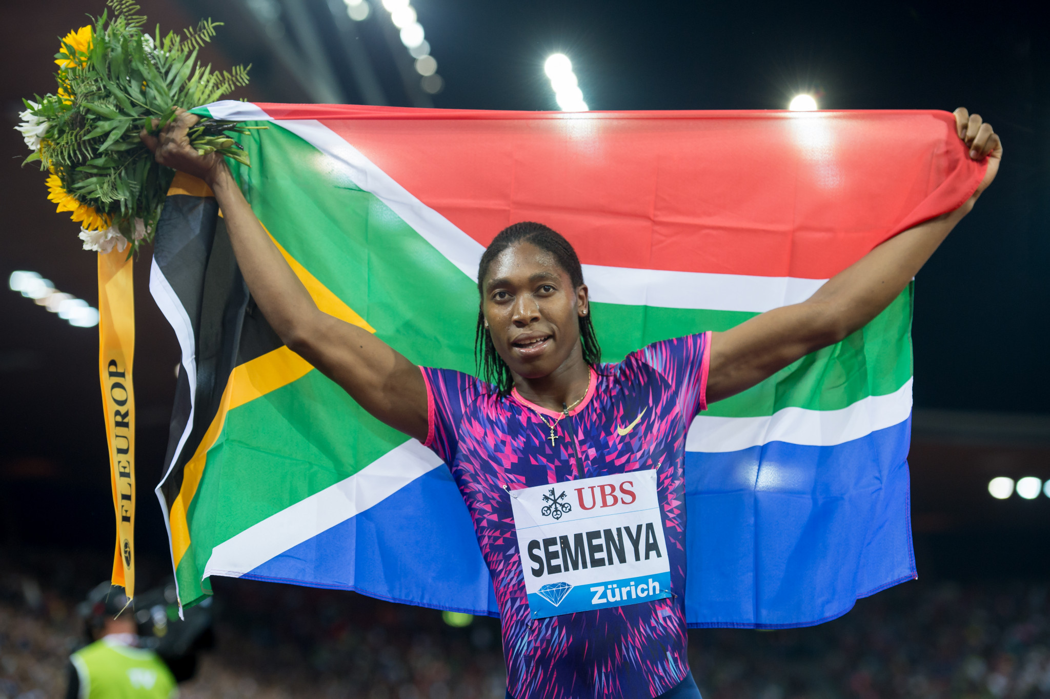 Caster Semenya will be among leading South African athletes at Gold Coast 2018 ©Getty Images