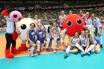 Russia maintain perfect start at FIVB Volleyball Women's World Cup as China suffer first loss