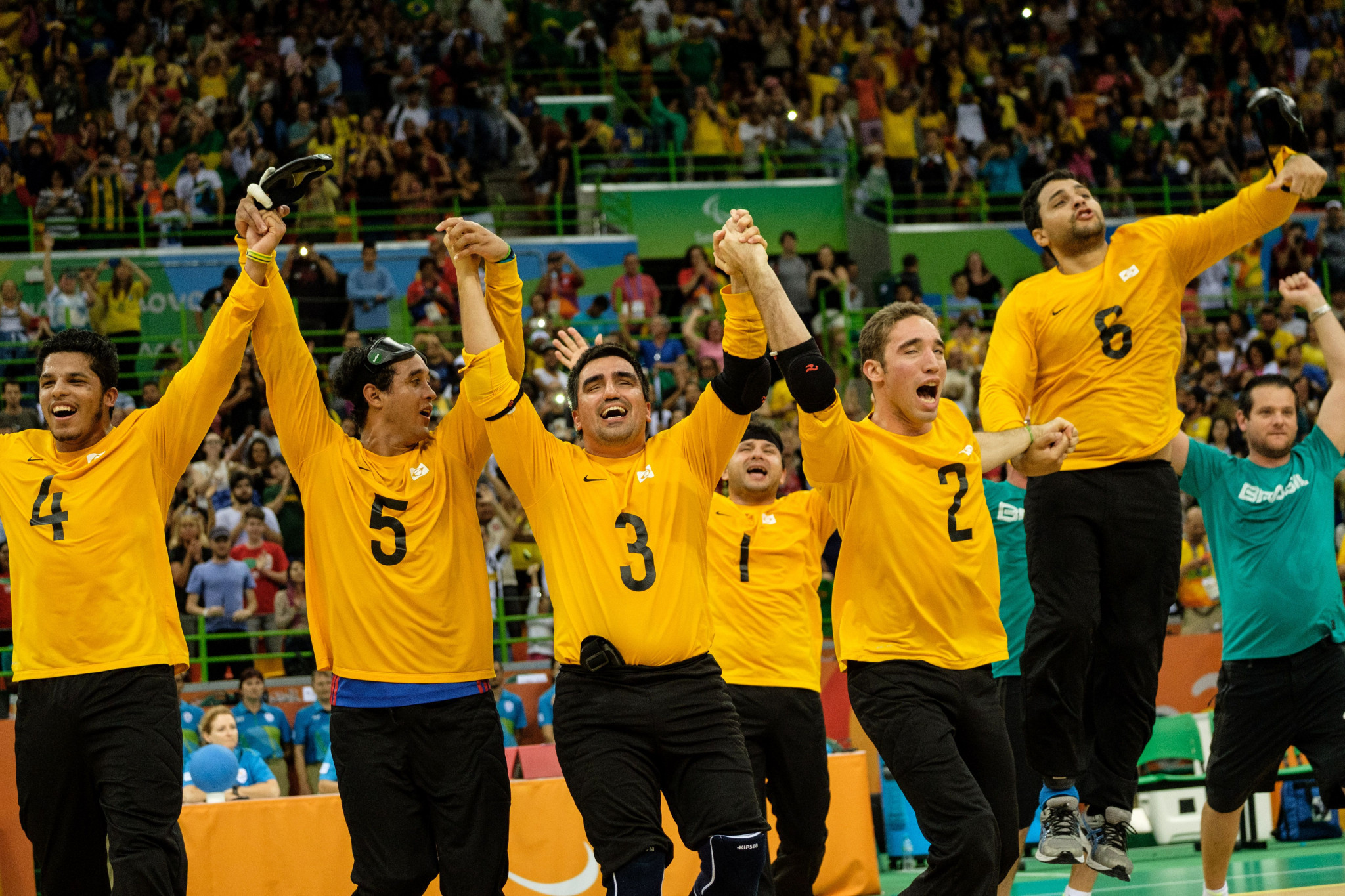 Brazil and China end year as goalball world number ones