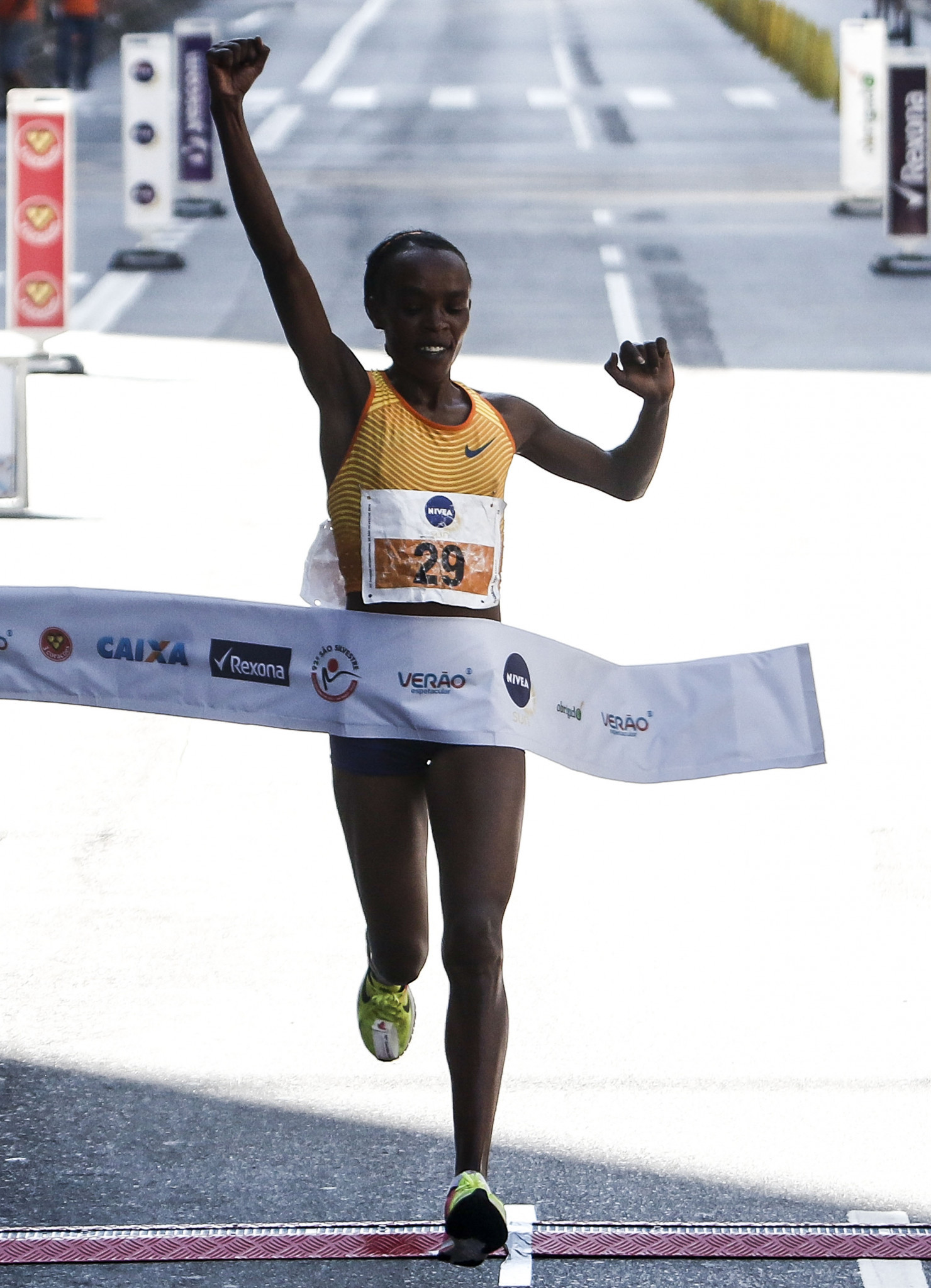 Jemima Sumgong lost the title after her doping ban ©Getty Images