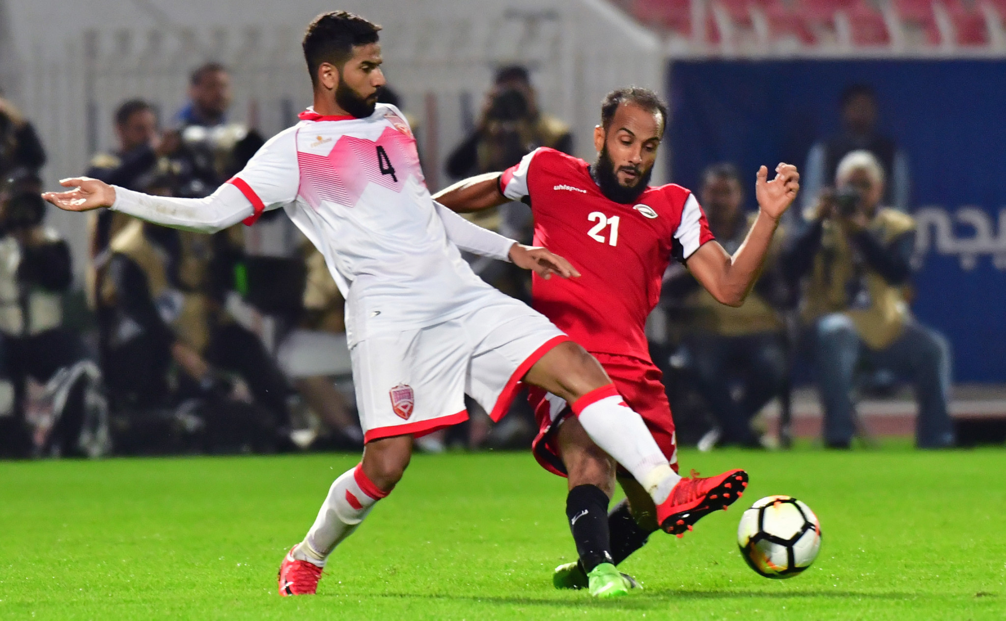 Iraq produce shock at Gulf Cup with victory over holders Qatar