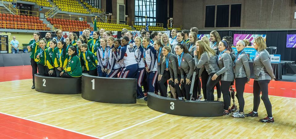 The United States women's team won gold at the recent 2017 Pan American Sitting Volleyball Championships in Canada ©World ParaVolley